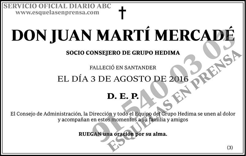 Juan Martí Mercadé